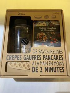 COFFRET SHAKER A CREPES, PANCAKES, GAUFRES
