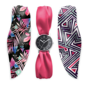 COFFRET MONTRE FOULARD FUSHY