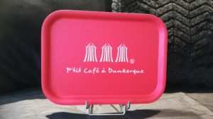 "PLATEAU ""P'TIT CAFE A DUNKERQUE ""GRENADINE"