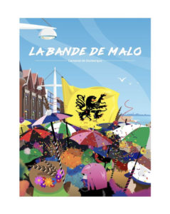 """AFFICHE """"LA BANDE DE MALO"""""""