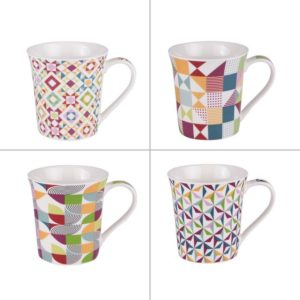 "COFFRET 4 MUGS ""BRAZILIA"""
