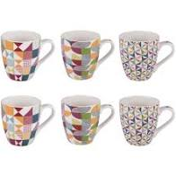 "COFFRET 6 TASSES ""BRAZILIA"""