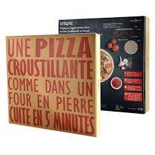 CRISPIZ : PIERRE A PIZZA COOKUT